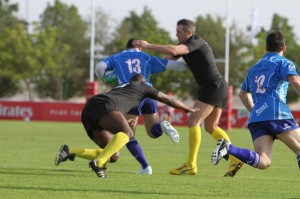 Bali Legends v Swansea Heavies at Dubai 7s 2012